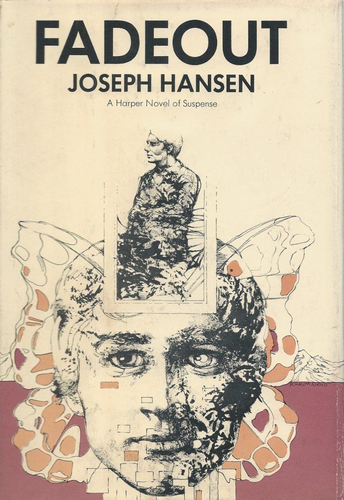 Cover der Erstausgabe von »Fadeout« von Joseph Hansen (1970)