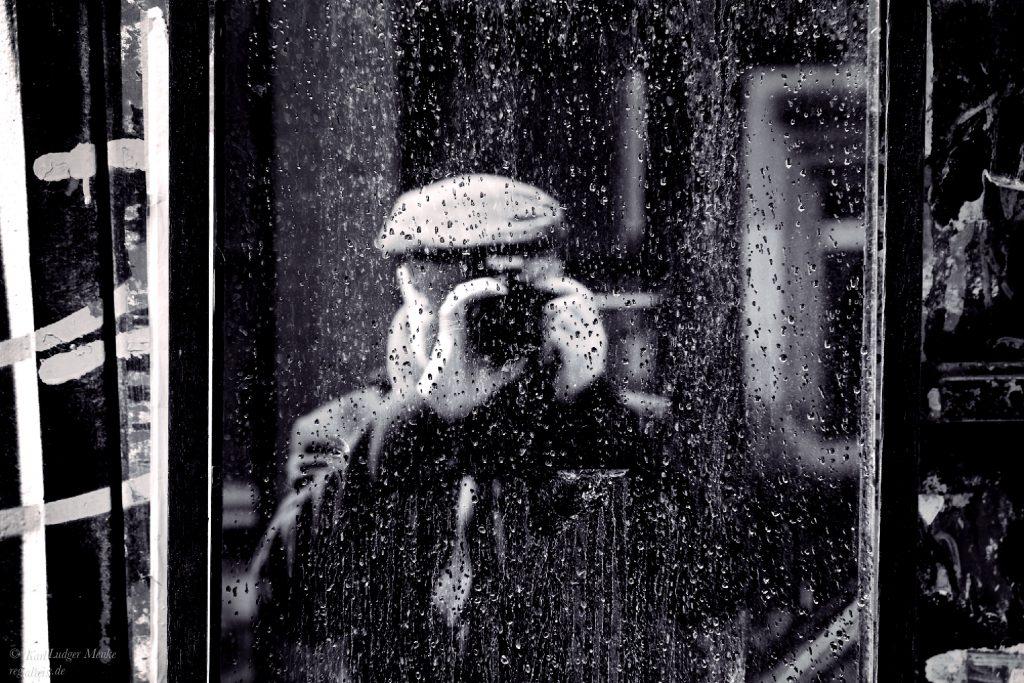 Fotograf im Spiegel