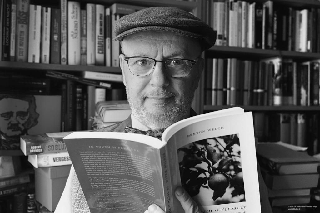 Nachtbilbiothekar Karl Ludger Menke